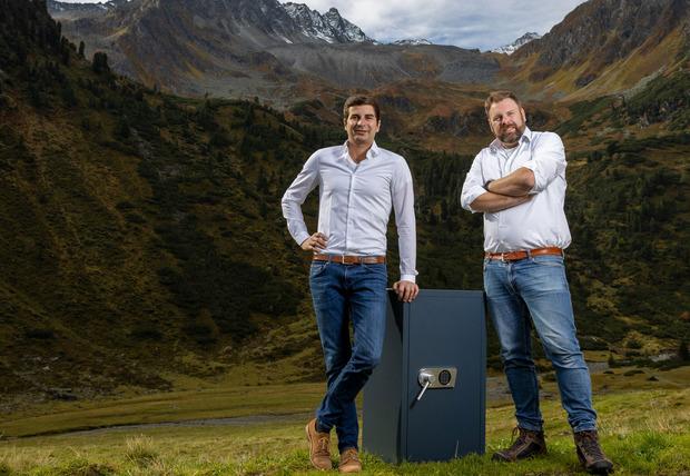 Secureo-Gründer Richard Leitgeb und CEO Rafael Pauley