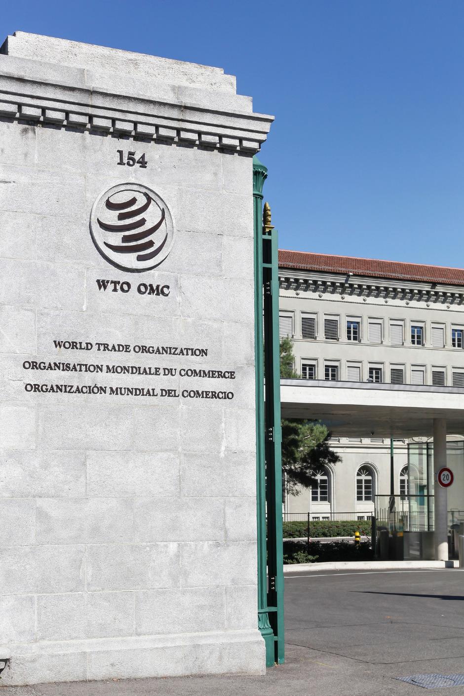 Das WTO-Hauptquartier in Genf.