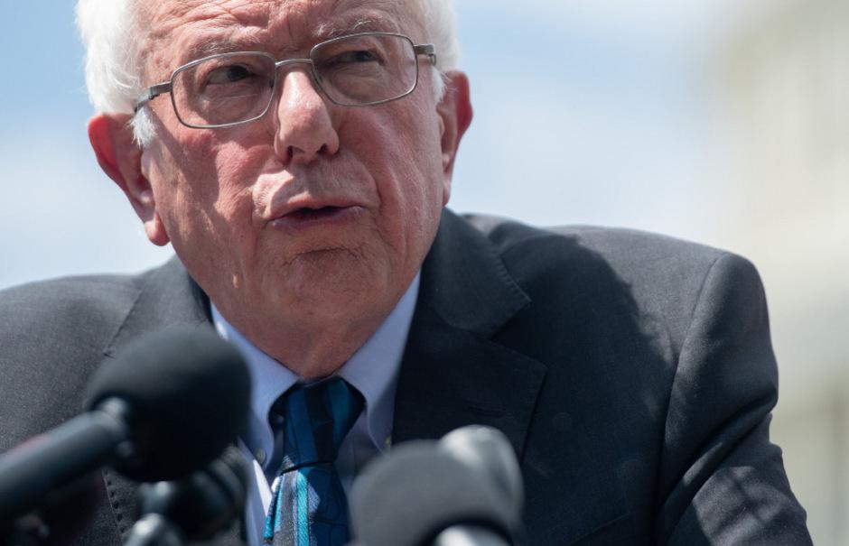 Bernie Sanders in Washington.