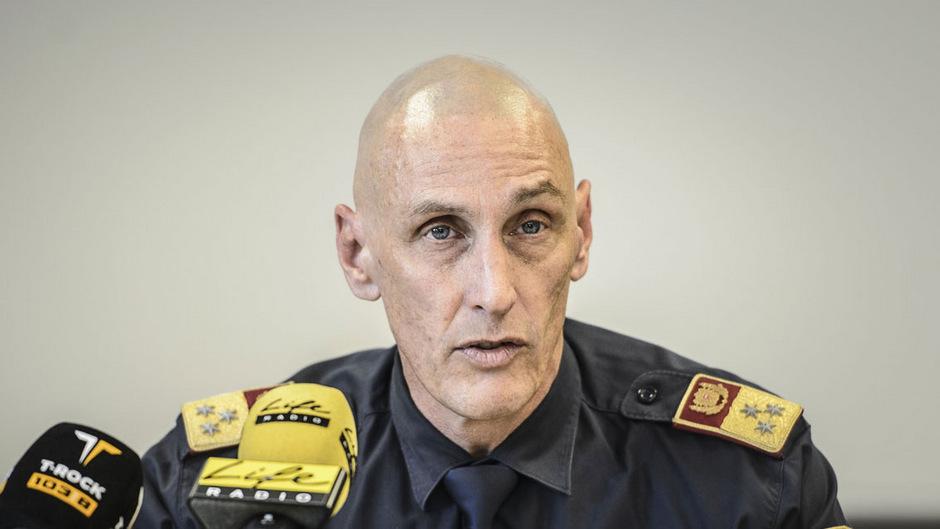 Innsbrucks Polizeikommandant Martin Kirchler.