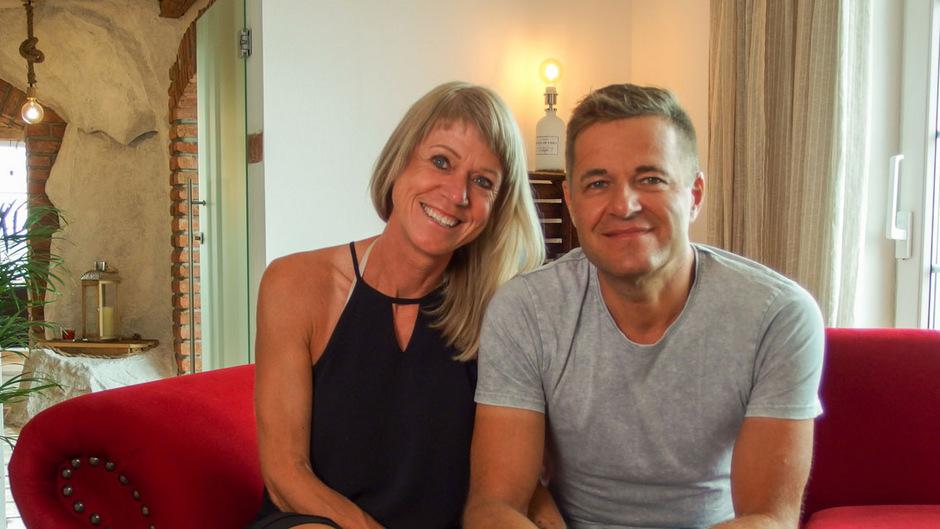 """Hochzeitsglocken dank der """"Liebesg'schichten"""". Fritz und Andrea haben sich durch die Senudng 2018 kennengelernt. Kommenden Sommer ist die Hochzeit geplant."""