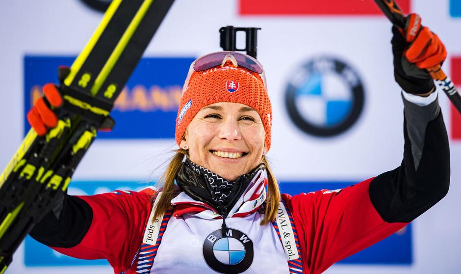 Anastasija Kuzmina hängt Skier und Gewehr an den Nagel.
