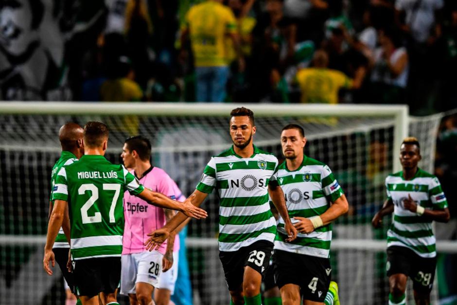 Sporting Lissabon behielt die Nase am Ende doch knapp vorne.