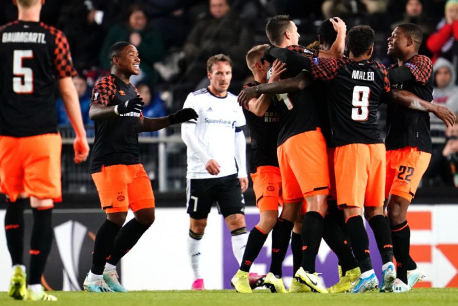 PSV EIndhoven spielte groß auf.
