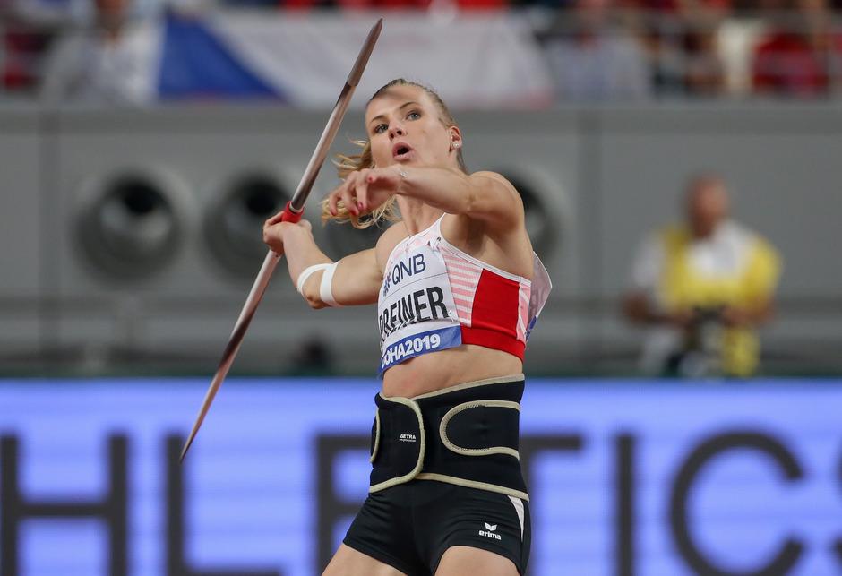 Bronzegewinnerin Verena Preiner.