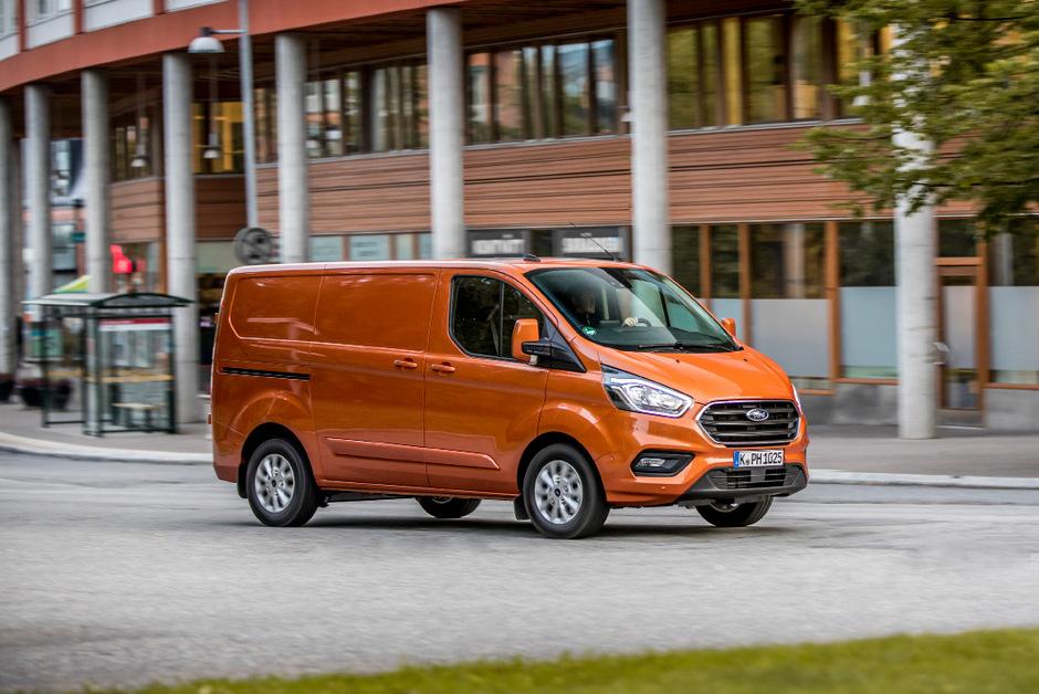 Ford als Trendsetter bei den Nutzfahrzeugen: Ganz neu ist der Transit als Plug-in-Hybrid.