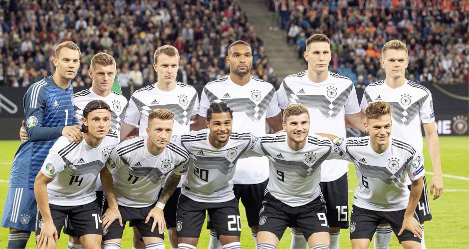 Kapitän Deutsche Nationalmannschaft 2020
