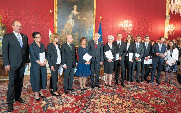 Das Kabinett Bierlein war das erste, das eine Fifty-Fifty-Quote schaffte.