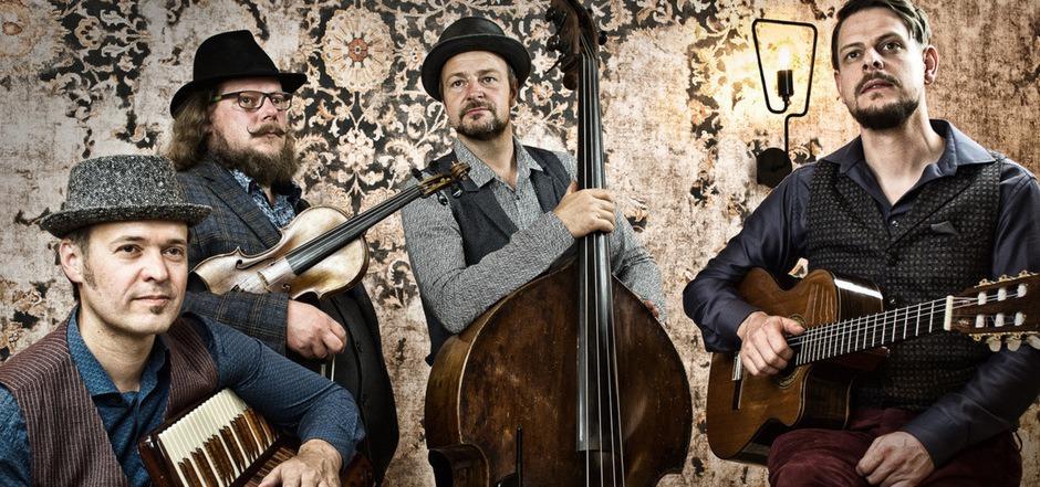 """Hinter dem """"Special-Blend-Sound"""" des """"Tyrol Music Projects"""" stecken die kreativen Köpfe von Toni Klingler, Lukas Riemer, Hubert Klingler und Max Hechenblaikner."""