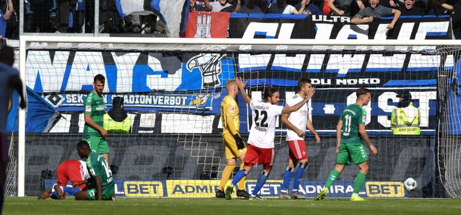 Der HSV jubelte über einen verdienten Heimsieg und die Tabellenführung.
