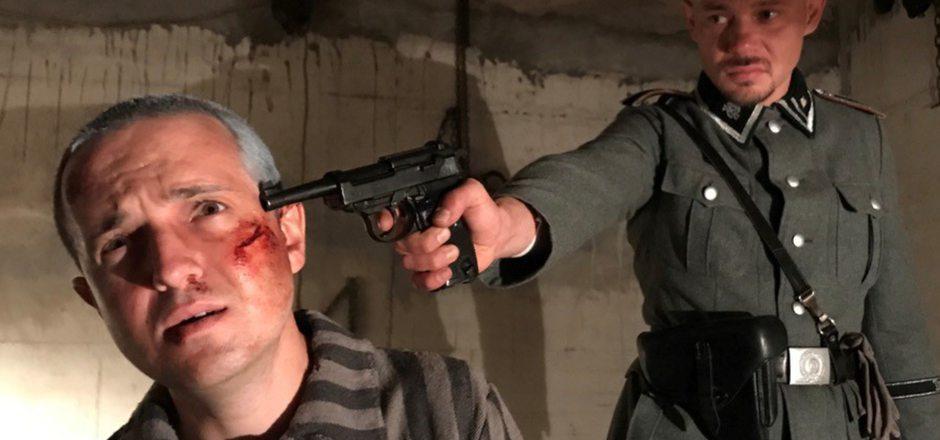 Der Osttiroler Lucas Zolgar als Otto Neururer, der in Buchenwald ermordet wurde.