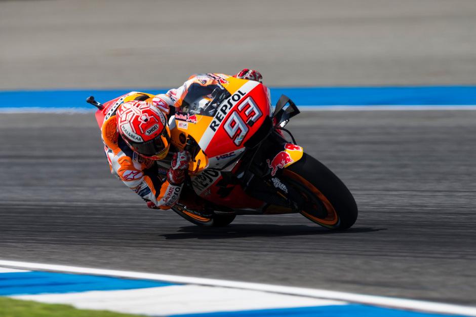 Alter und neuer MotoGP-Weltmeister: Marc Marquez.