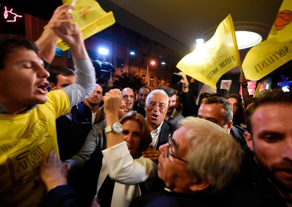 Antonio Costa und seine Partei haben offenbar die Wahl gewonnen.