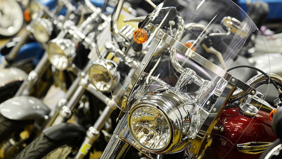 Nicht nur Zweiräder waren Thema in einem Motorradclub. (Symbolbild)