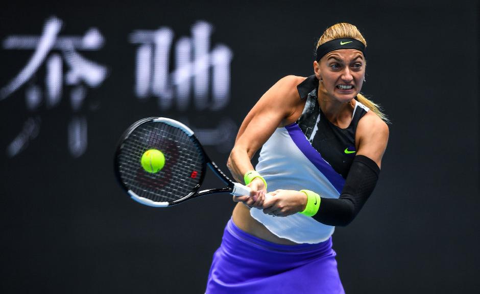 Petra Kvitova jagt auch bei den Finals der Filzkugel nach.