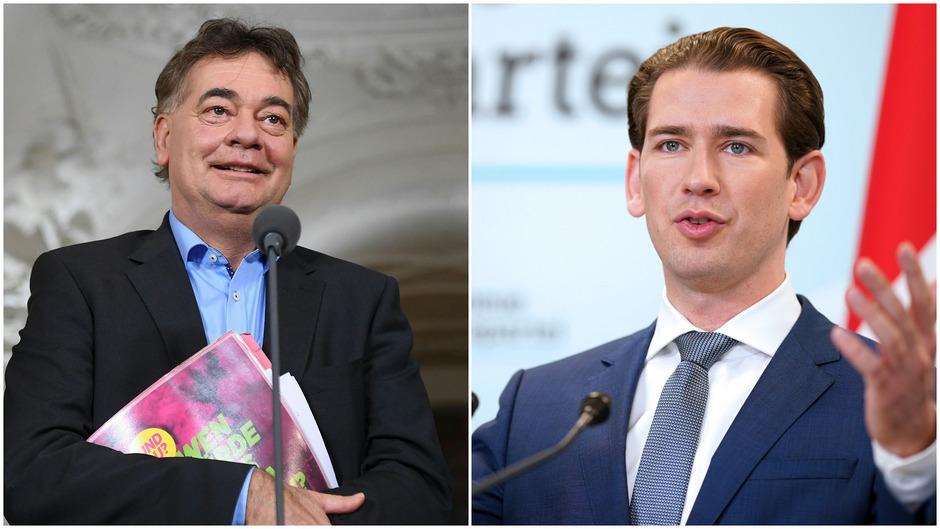 Der Weg zu einer Regierung birgt noch viele Hürden für Sebastian Kurz (ÖVP, r.) und Werner Kogler (Grüne).