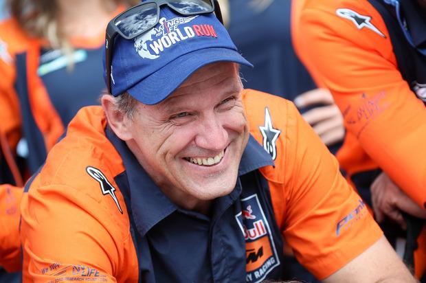 KTM-Sportmanager Heinz Kinigadner.