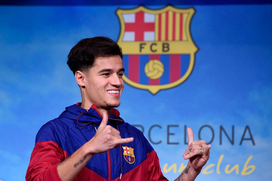 Kam für 145 Millionen Euro von Liverpool nach Barcelona, jetzt kickt er für die Bayern: Coutinho.