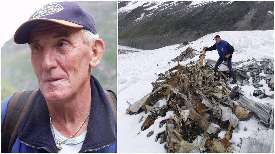 Als im Sommer 2002 in Prägraten das Wrack einer Ju 52 aus dem Zweiten Weltkrieg gefunden wurde, war Alois Berger hautnah mit dabei. Berger ließ das Bergsteigen schon vor Jahren sein. Die Gesundheit erlaubt keine alpinen Touren mehr.
