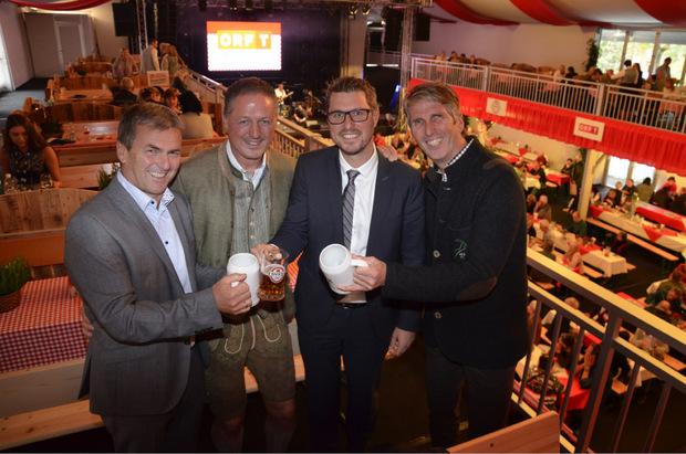 BM Franz Gallop (Stams), Luis Kluibenschädl (Alpe), BM Christian Härting (Telfs), Richter Hannes Seiser.