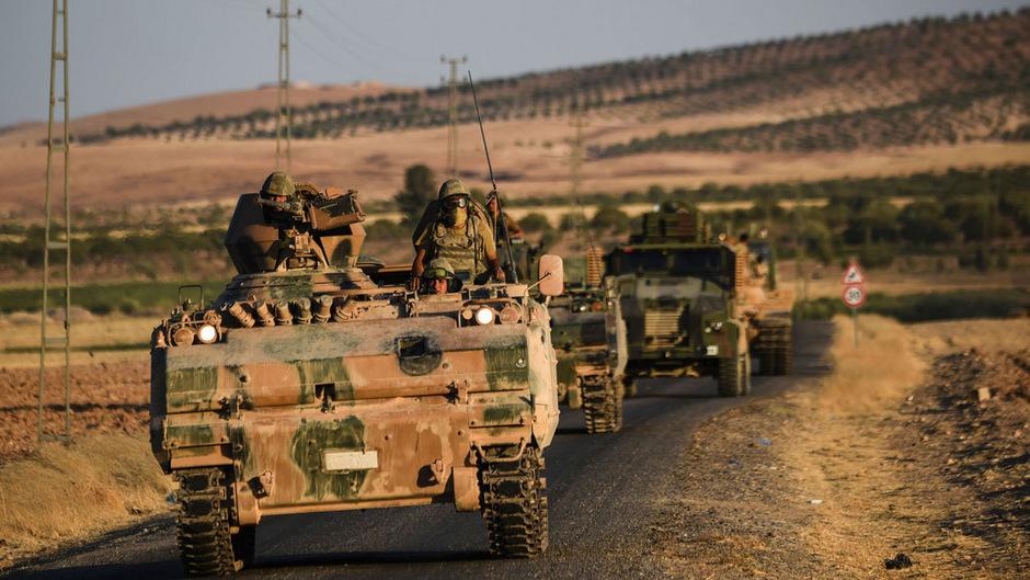 Türkische Panzer.