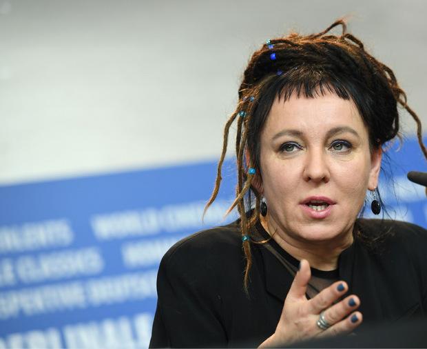 Die polnische Autorin Olga Tokarczuk.