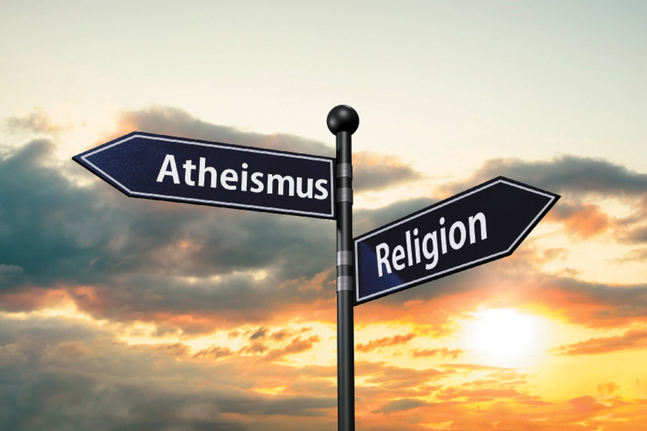 """Die Atheistische Religionsgemeinschaft sieht keinen Widerspruch zwischen Atheismus und Religion, die sie als """"gelebte Philosophie"""" definiert."""