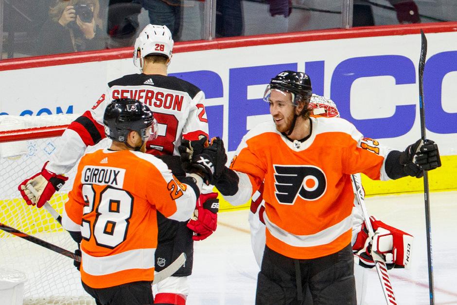 Erstmals seit acht Jahren jubelten die Philadelphia Flyers über zwei Siege zum Saisonstart.