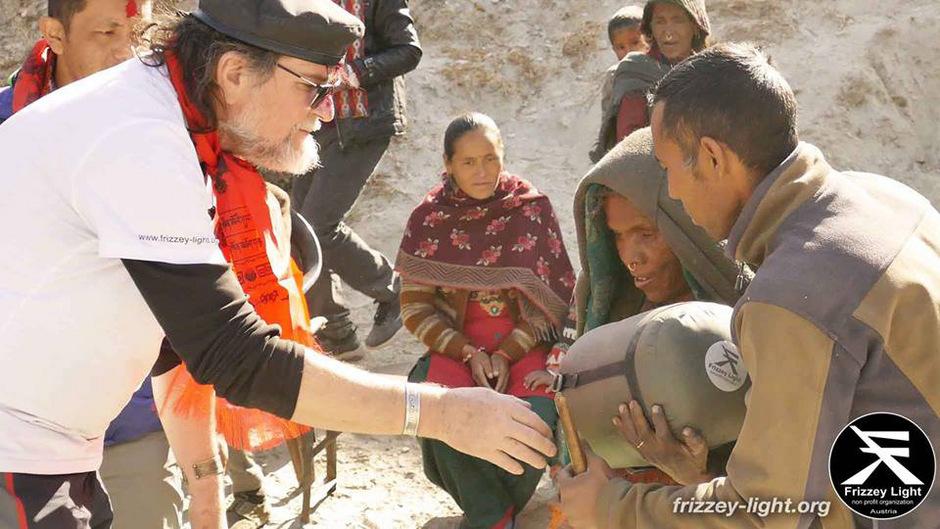 Frizzey Greif plant bereits seine nächste Tour nach Nepal.
