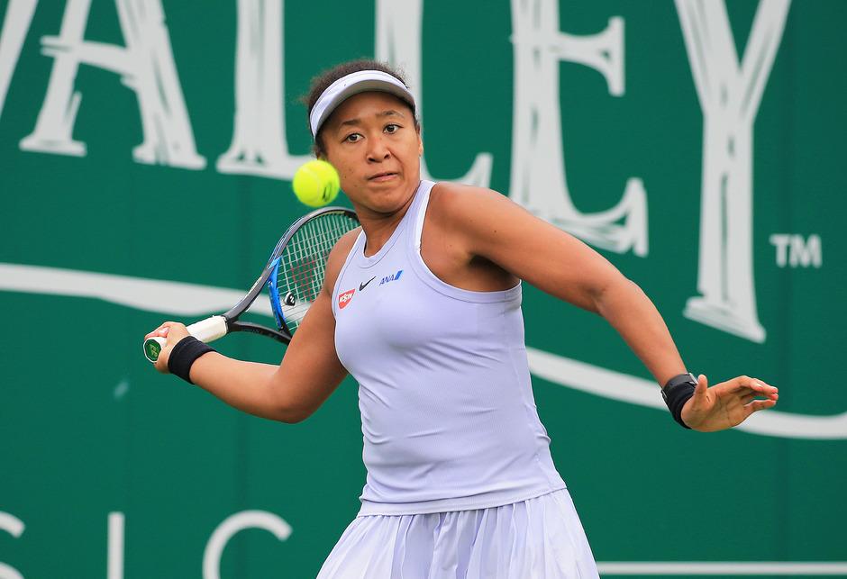 Die amtierende Australian-Open-Siegerin Naomi Osaka.
