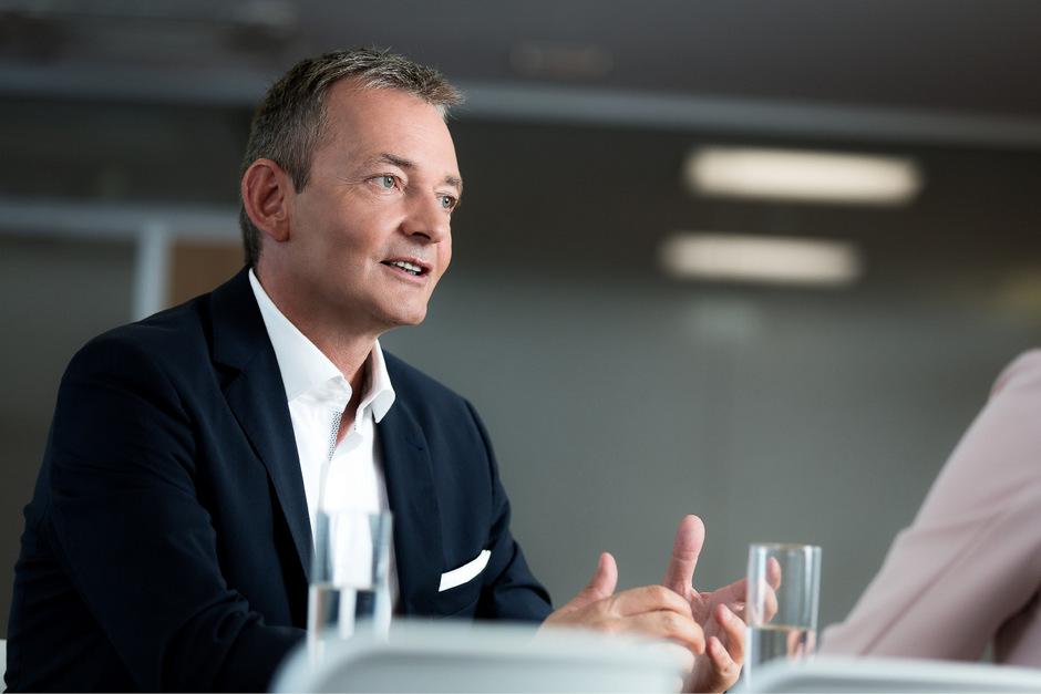 A1-CEO Marcus Grausam berichtet am 16. Oktober in Hall in Tirol von erfolgreichen Anwendungen von 5G und dem Internet der Dinge.