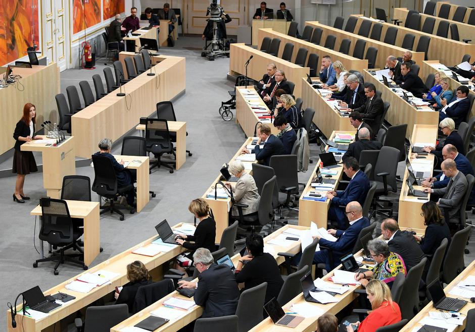 SPÖ und Grüne stimmten im Bundesrat gegen eine Verankerung einer Schuldenbremse in der Verfassung. (Im Bild: Grüne Bundesrätin Ewa Dziedzic)