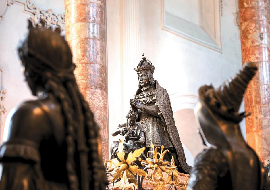 Kaiser Max hinterließ der Nachwelt kostbare Kunstgegenstände.