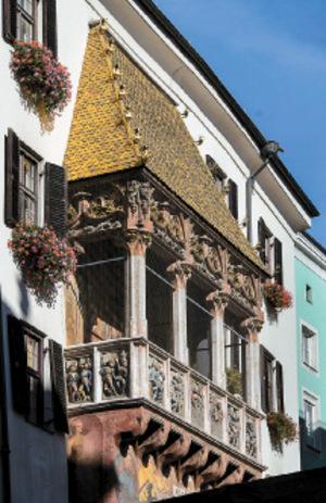 "Kaiser Maximilian I. schuf das einzigartige ""Goldene Dachl"" in Innsbruck."