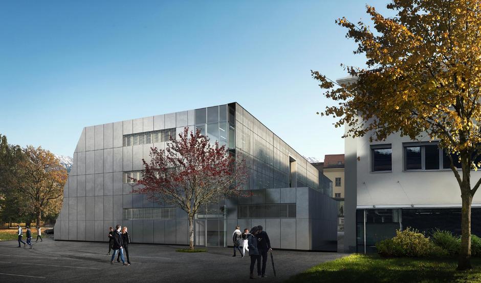 So soll die erweiterte Schule bei ihrer Fertigstellung im August 2020 aussehen.