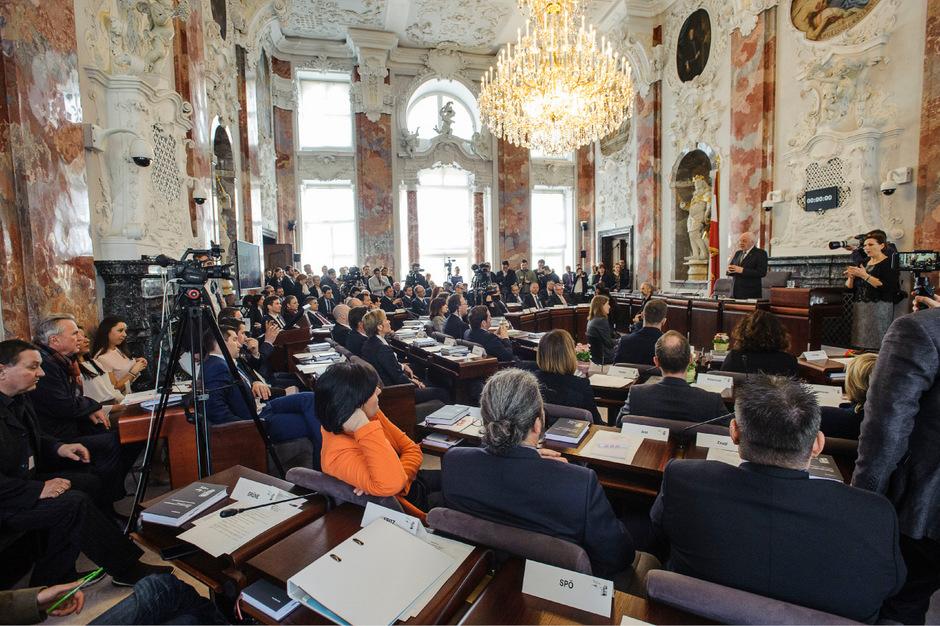 Der Tiroler Landtag.