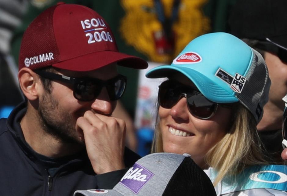 Gehen wieder getrennte Wege: Mathieu Faivre und Mikaela Shiffrin.