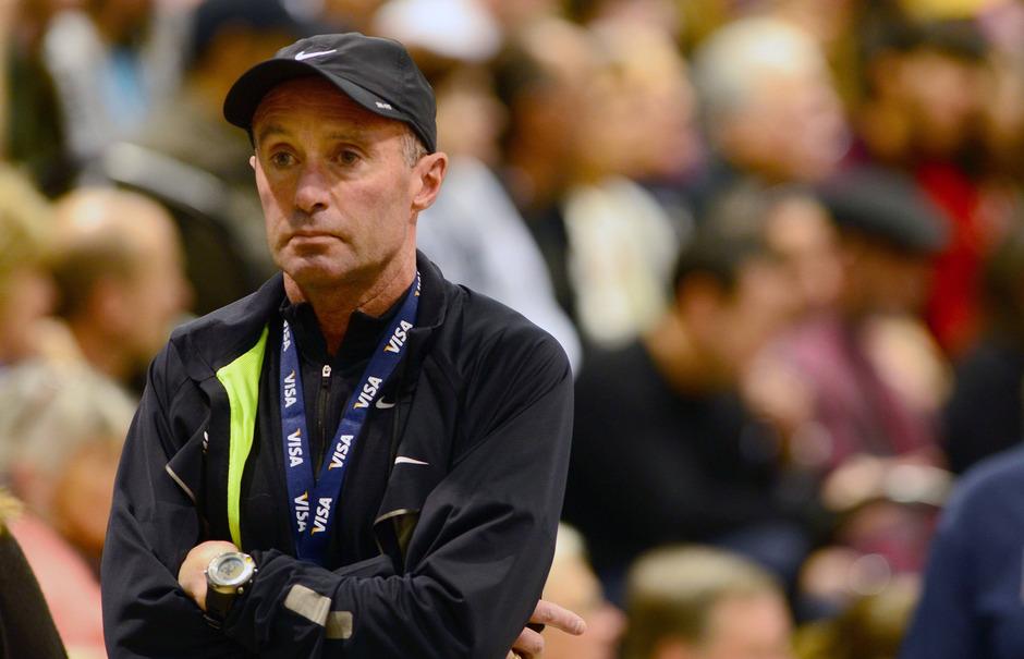 Cheftrainer Alberto Salazar wurde von der USADA vier Jahre gesperrt.