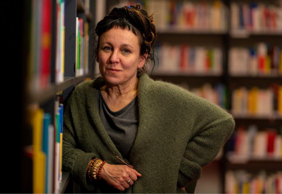 """""""Für ihre narrative Vorstellungskraft"""" wurde Olga Tokarczuk am Donnerstag der Literaturnobelpreis für das Jahr 2018 zugesprochen."""