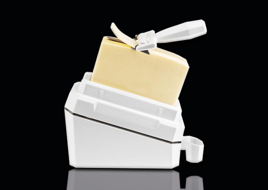 Für diesen Butterschneider erhielt der Außerferner Martin Iljazovic den Erfinderpreis bei der heurigen Herbstmesse in Innsbruck.