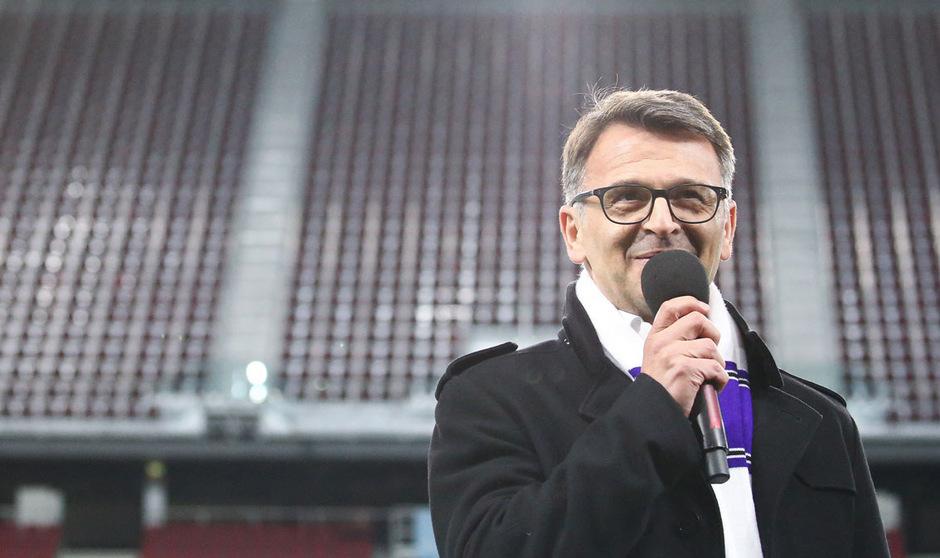 Austria Klagenfurts Präsident Ivica Peric kann vorerst durchatmen.