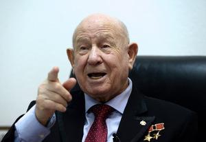 Raumfahrt-Pionier Alexej Leonow auf einem Foto aus dem Jahr 2015.