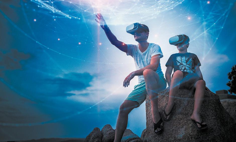 VR-Brillen: Eine nette Spielerei, mehr aber auch nicht.
