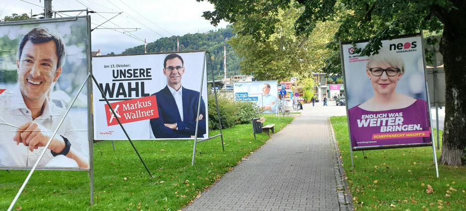 Am Sonntag wird in Vorarlberg gewählt.