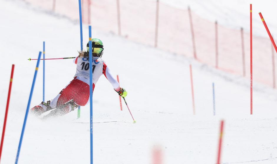 Katharina Liensberger fand einen Ausweg aus der lange Zeit verfahrenen Skischuh-Causa.