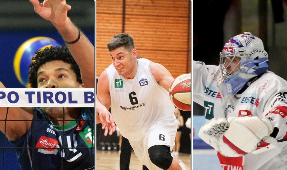 Volleyball, Basketball, Eishockey: Die Sportfans kommen in der Olympiaworld heute voll auf ihre Kosten.