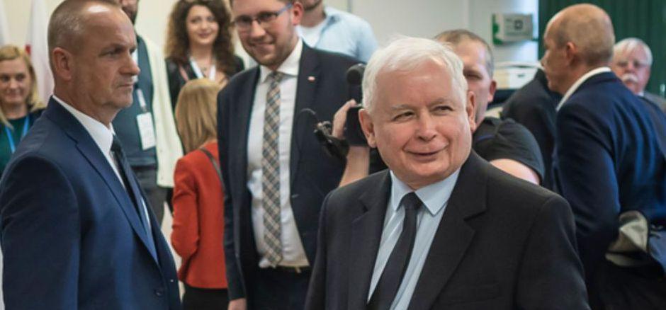 PiS-Parteichef Jaroslaw Kaczynski.
