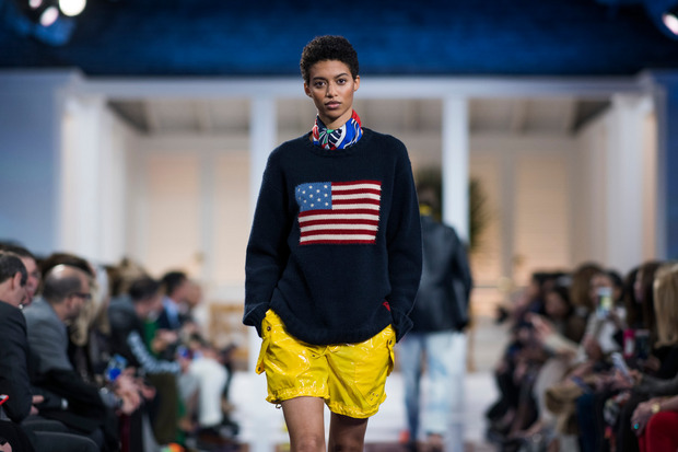 Amerika ist in Ralph Laurens Mode immer ein großes Thema.