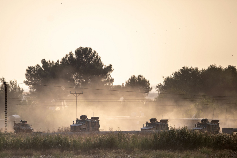 Aufgrund der türkischen Militäroffensive ist Hunderten IS-Kämpfern in Syrien die Flucht gelungen.