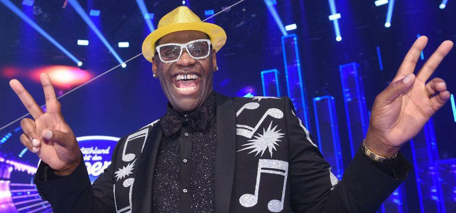 """Alphonso Williams im Mai 2017 beim Finale der RTL-Casting-Show """"Deutschland sucht den Superstar"""" in Köln."""